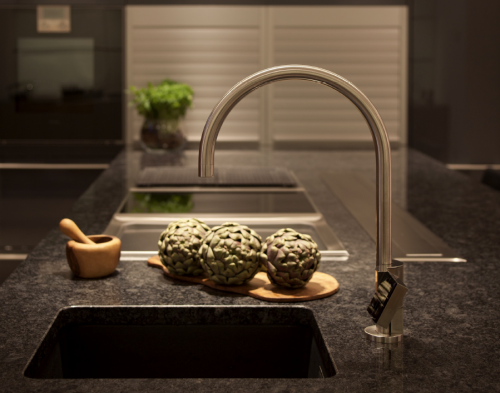 touchless Quatreau faucet