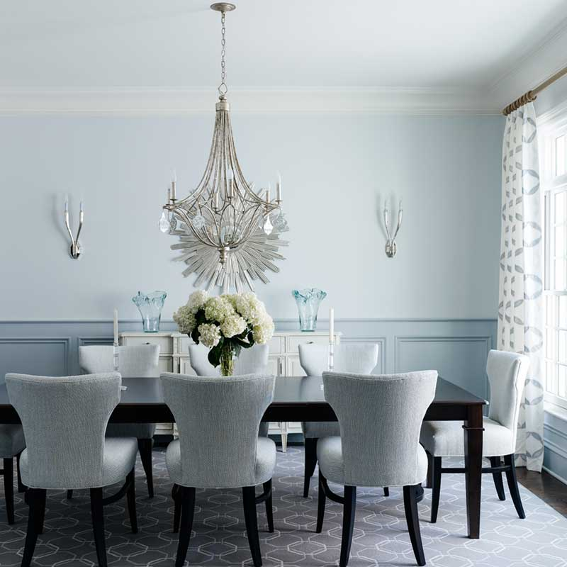 New Construction Dining Room Interior Design Charlotte NC