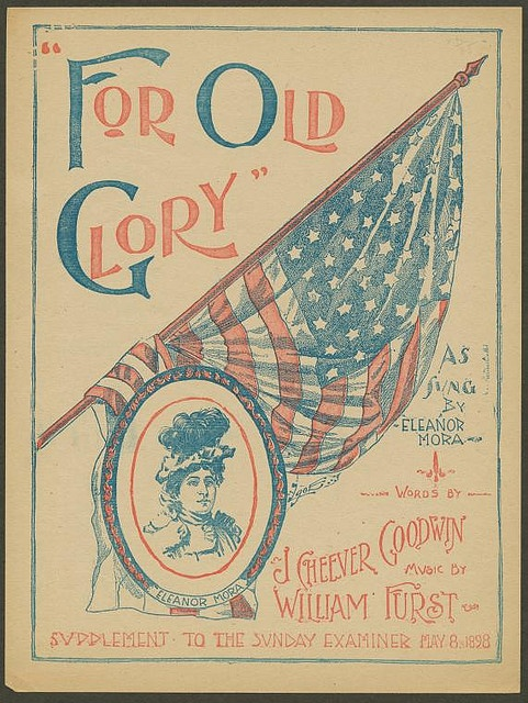 """For Old Glory"" poster"