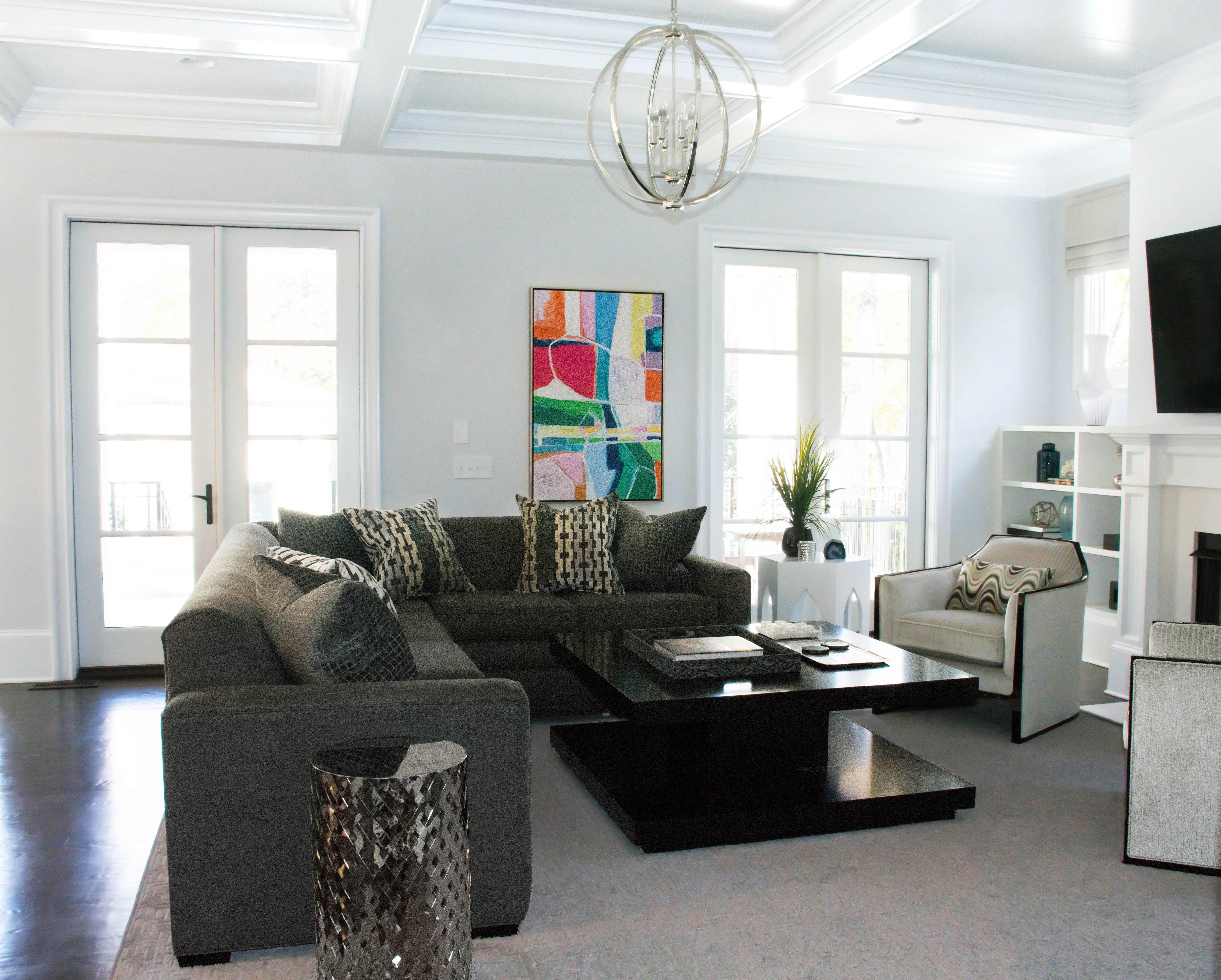 Charlotte interior designer family room 101 laura casey interiors interior designer charlotte nc