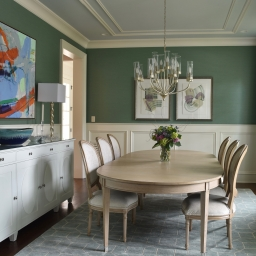 Laura Casey Interiors Dining Room