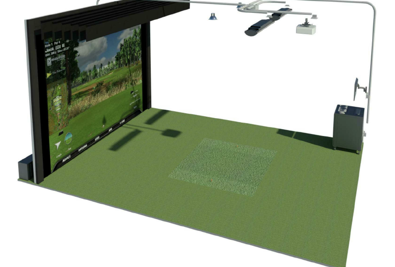 Laura Casey Interiors Golf Simulator 2