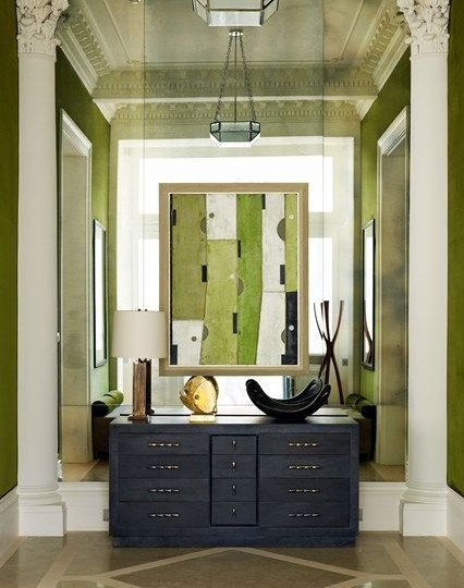 Laura Casey Interiors Moss Green 4