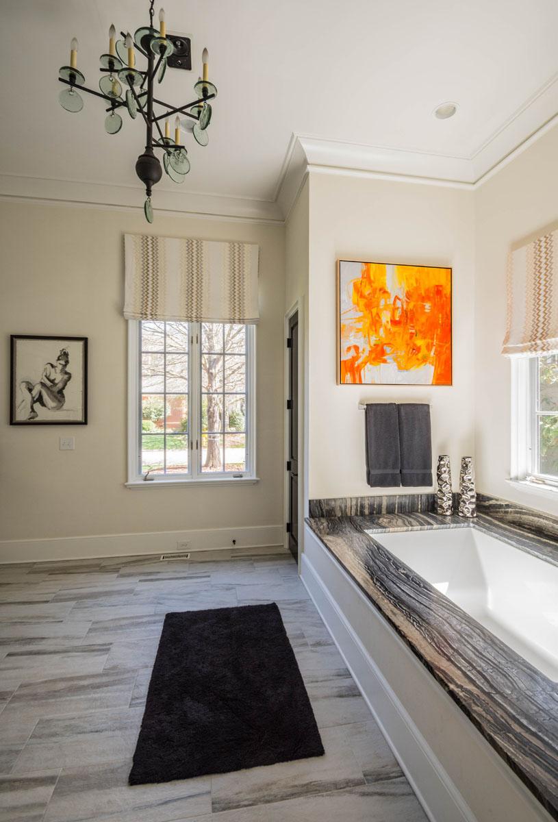 Interior Designer Master Bathroom