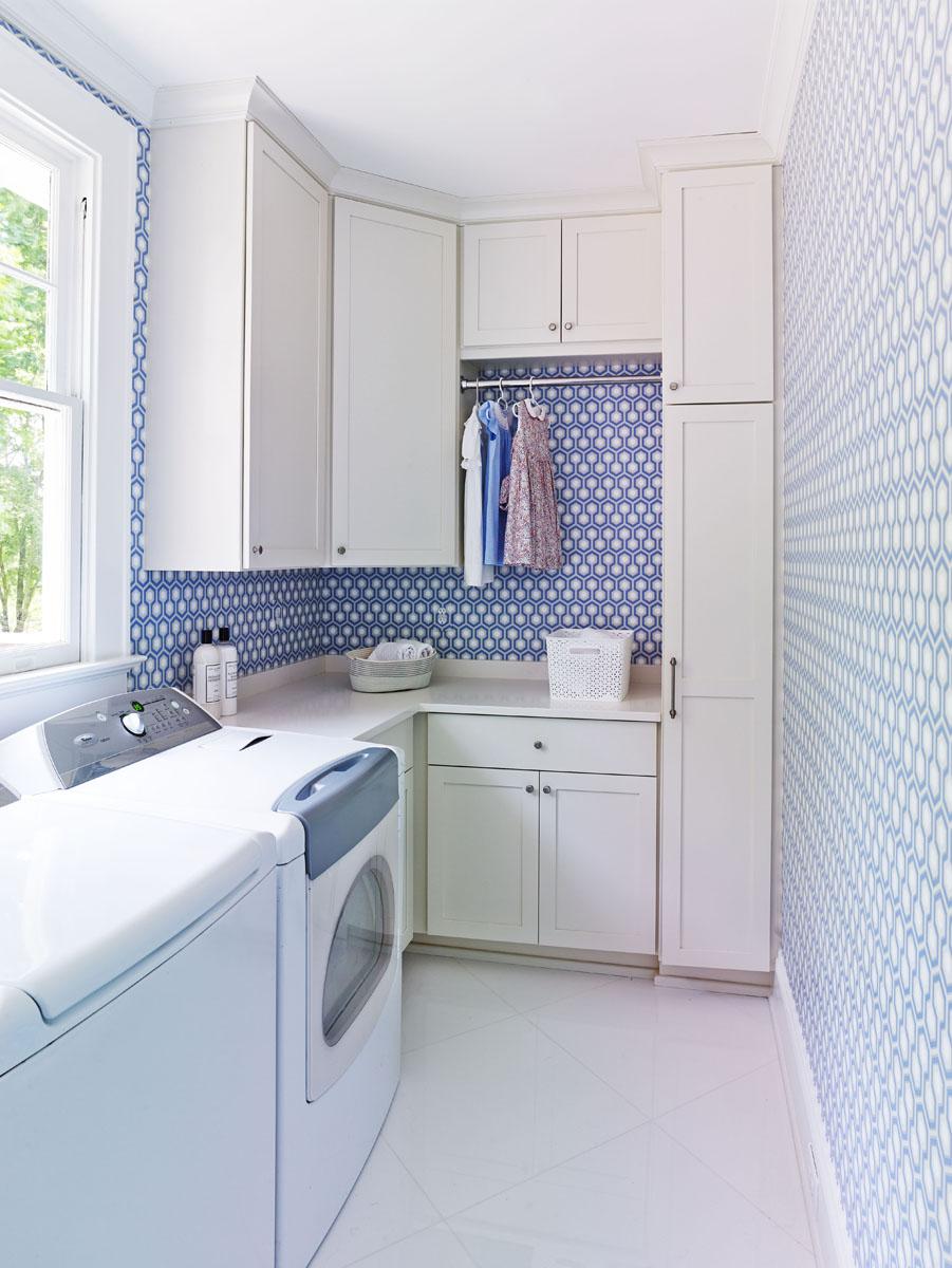 Interior Designer Laundry Room Charlotte