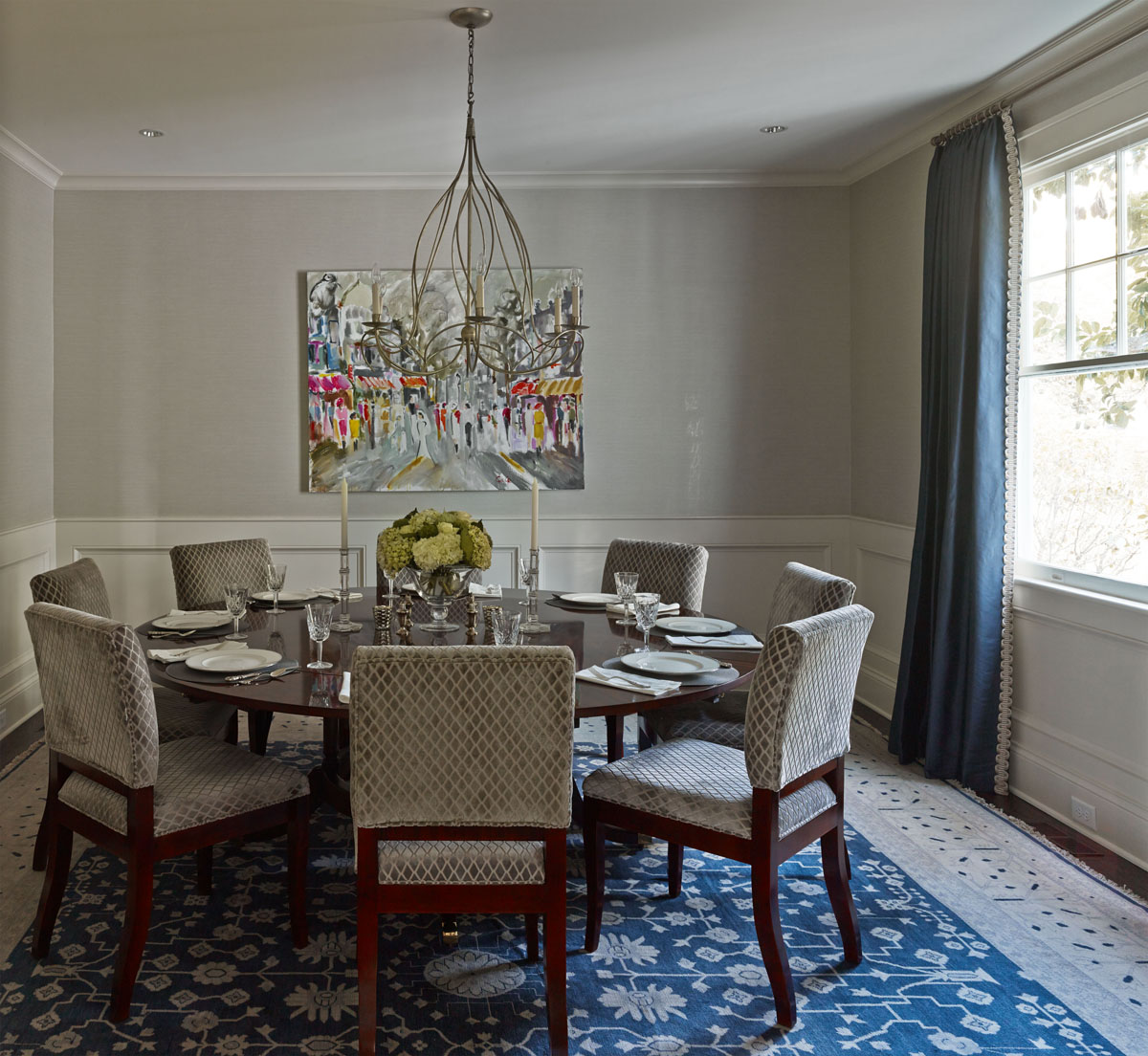 Charlotte Interior Designer Dining Room