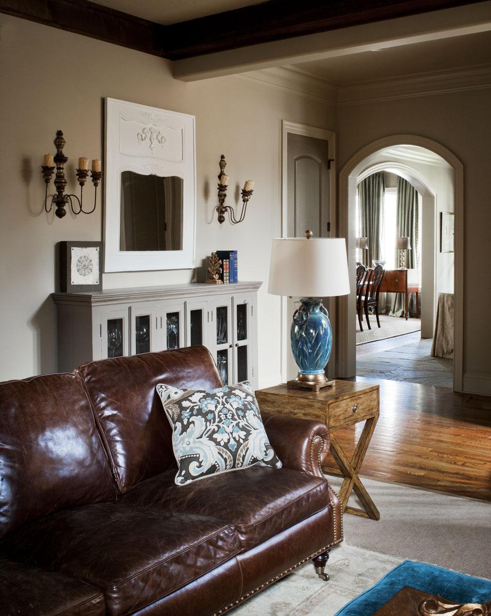 Neutral Family Home Interior Design Charlotte