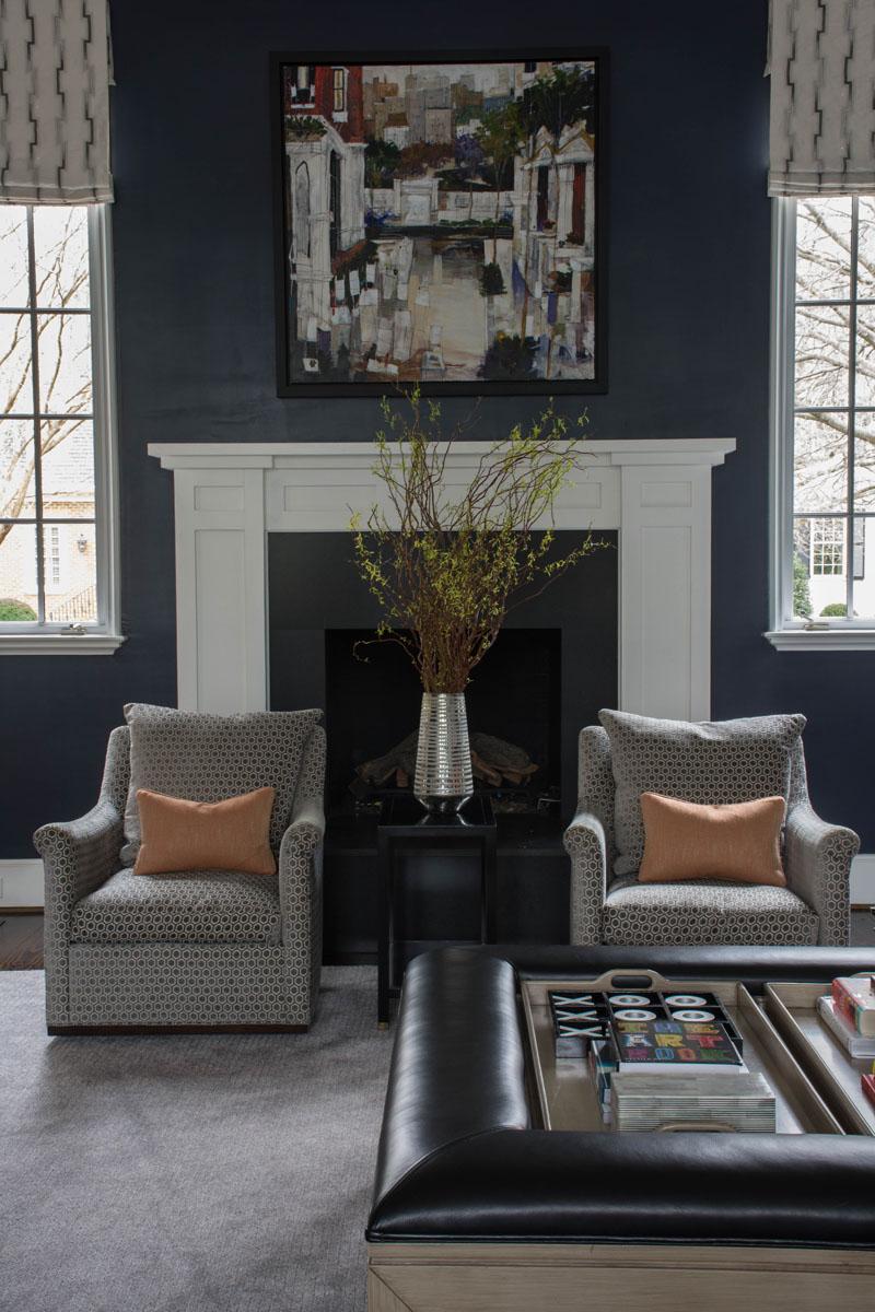 Family Room Design Interior Designer Charlotte