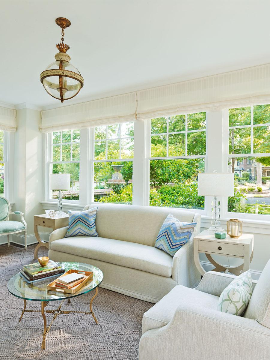 Interior Designer Charlotte NC Sunroom