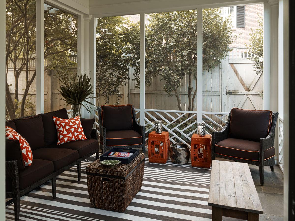 Interior Designer Charlotte NC Porch