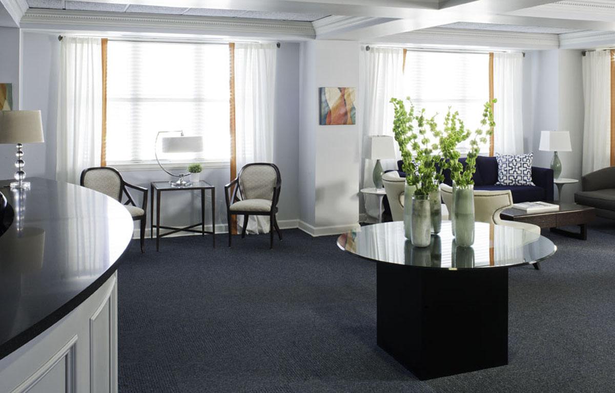 Interior Design Reception Areas