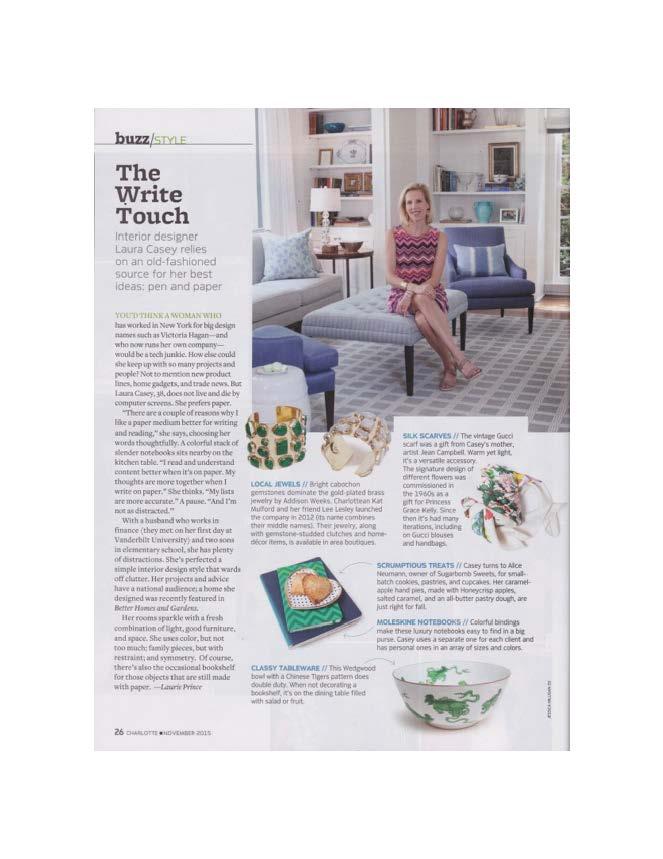 Magazine November 2015 Charlotte