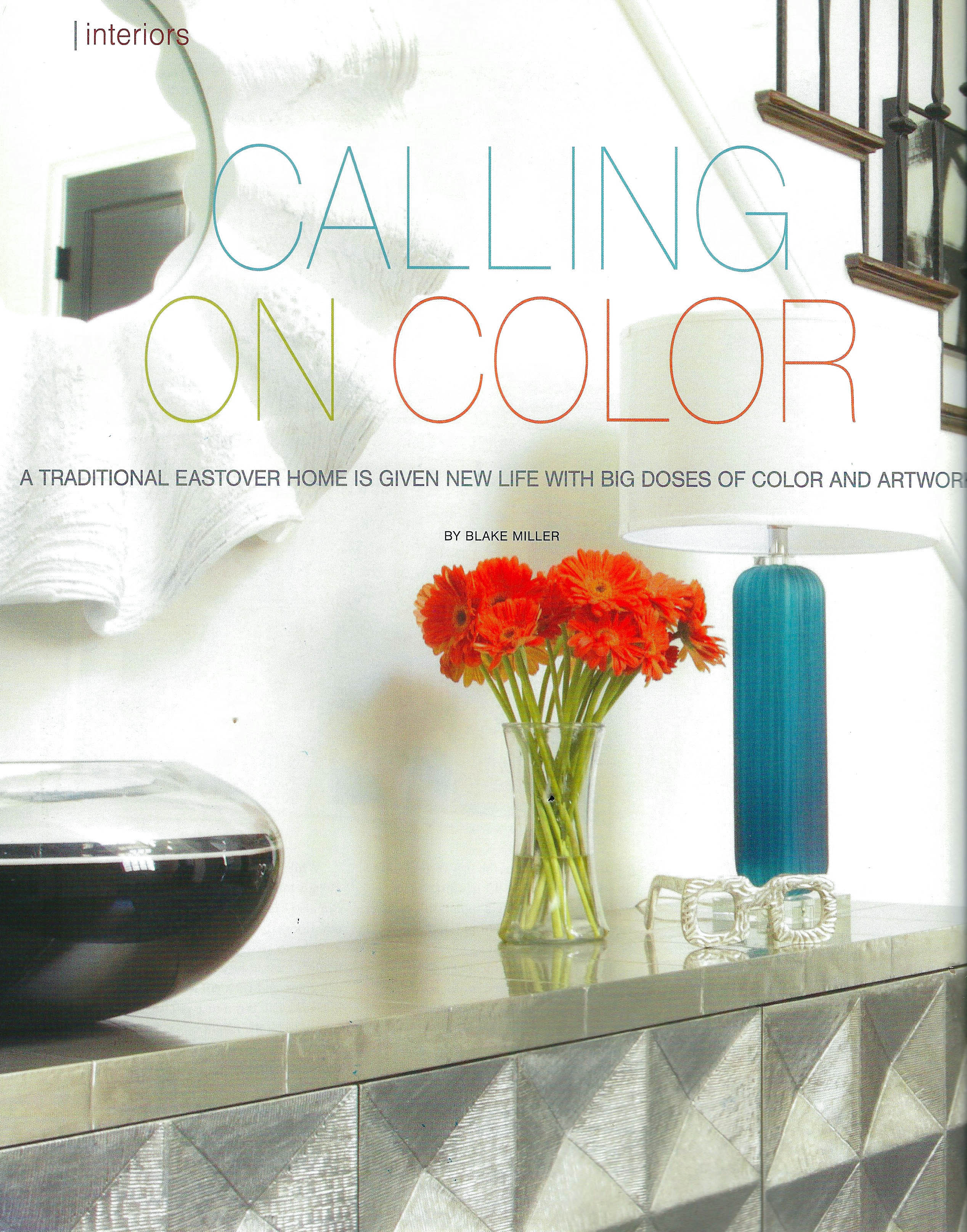 Calling on color SouthPark Magazine