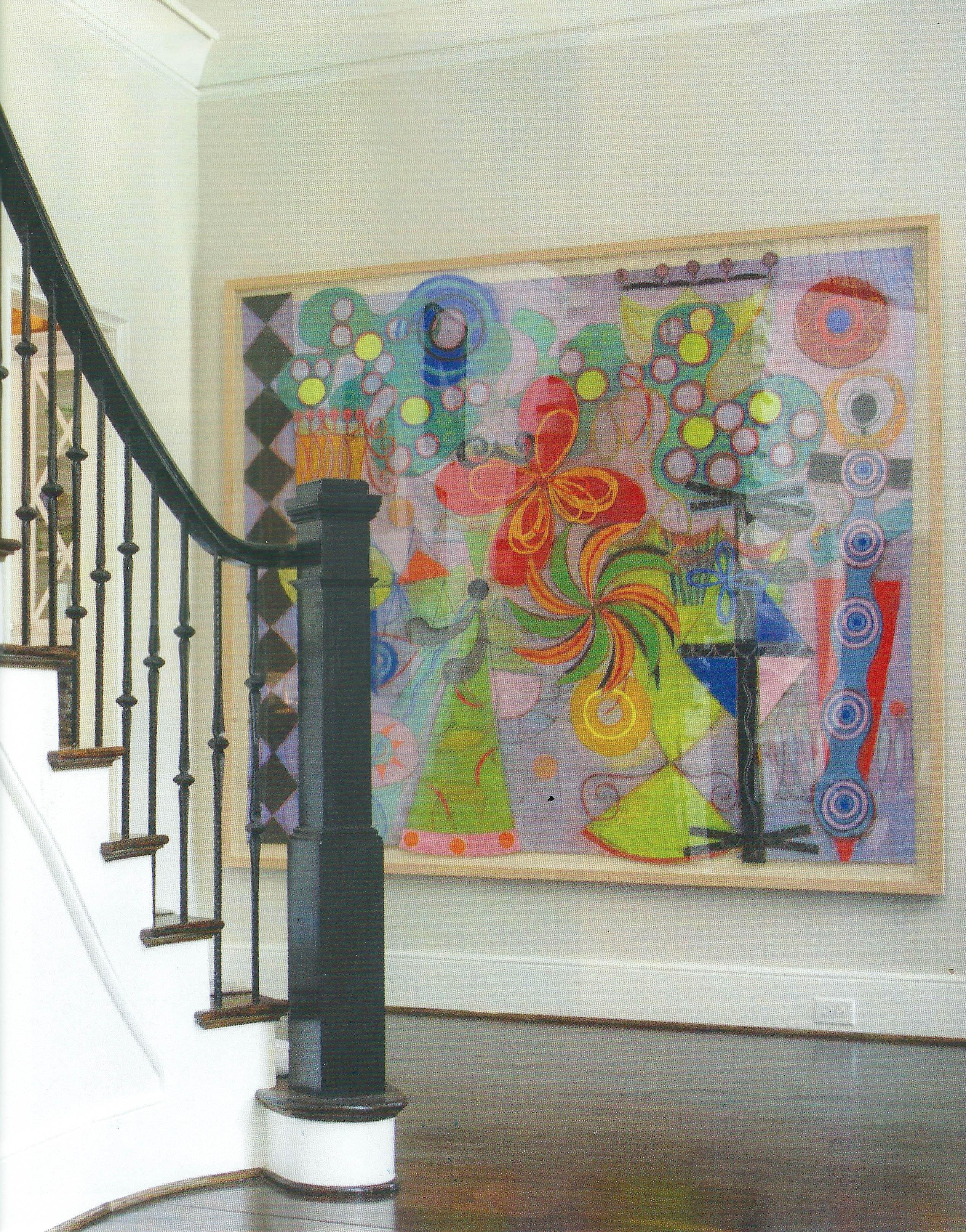 Paint art Southpark Magazine