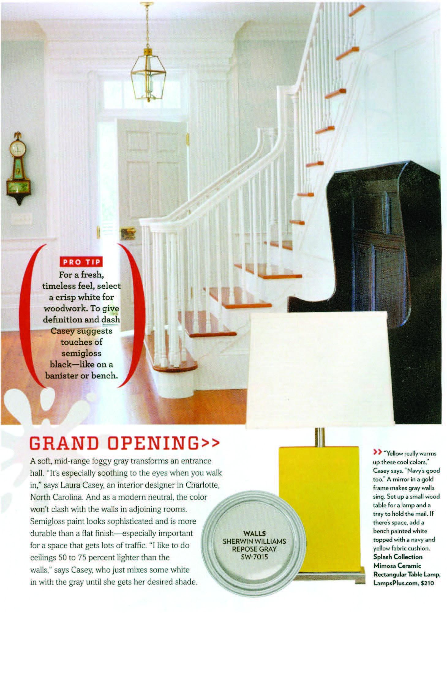 LCI Family Circle Color Theory Decorator Interior Design Charlotte