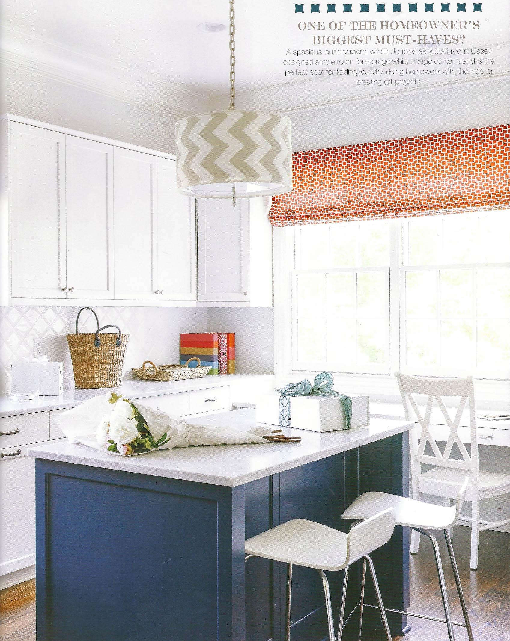 Laundry room Interior Design SouthPark Magazine