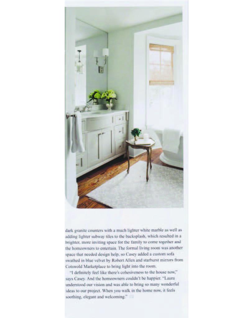 Laura Casey Interior Designer Charlotte Southpark Magazine