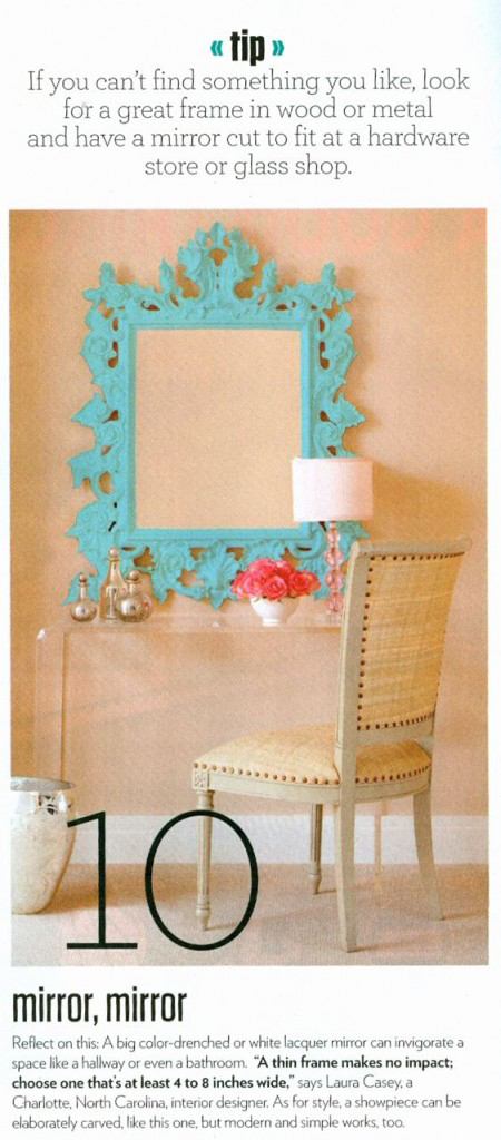Interior Decorator Mirror I