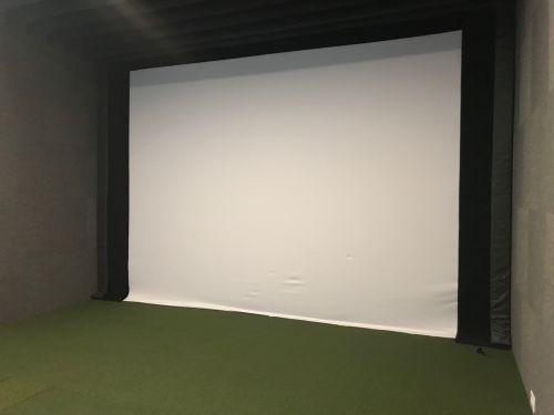 Golf Simulator- Laura Casey Interiors