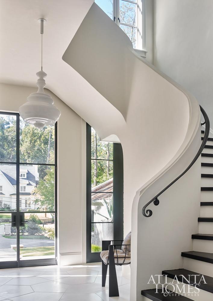 Atlanta Homes Magazine Staircase