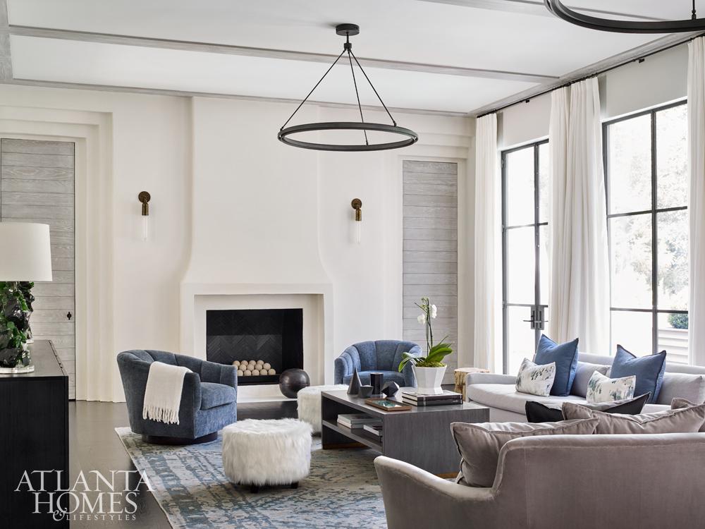 Atlanta Homes Living Room