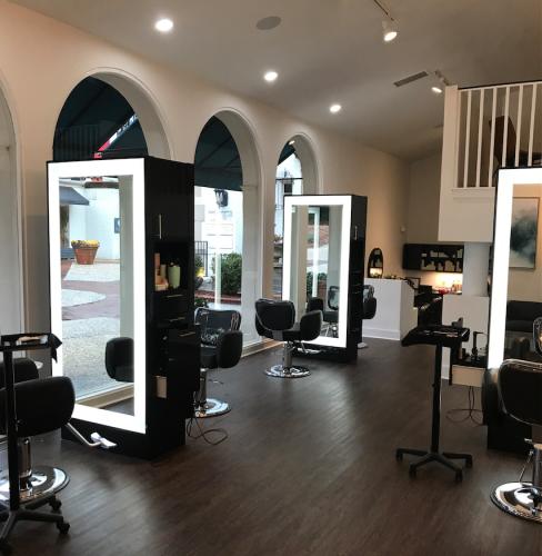 Meraki Salon- design by Laura Casey Interiors