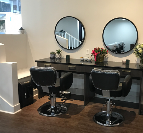 Meraki Salon- interior design by Laura Casey Interiors
