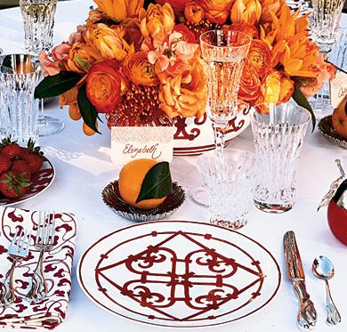 fall table place settings
